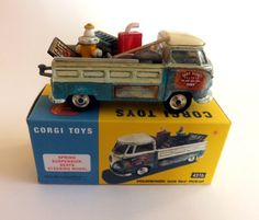 Latest JSR Corgi Toys Code 3 Model Volkswagen splitty with junk load.