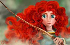 Merida - Brave by applejaxshii.deviantart.com on @DeviantArt