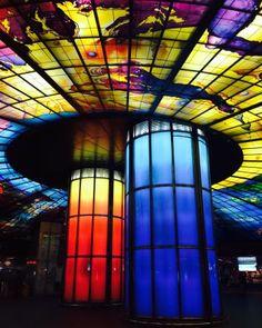 Dome of Light, Meilidao Station, Kaohsiung, Taiwan