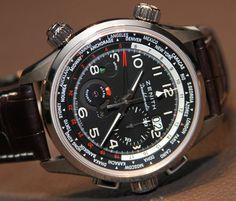 Zenith Pilot Doublematic Watch Hands-On   aBlogtoWatch Montre Zenith,  Breitling, Sport Watches 8979250ce7ce