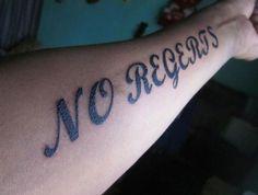 No regerts! - Hilarious photos of misspelt tattoos - Telegraph