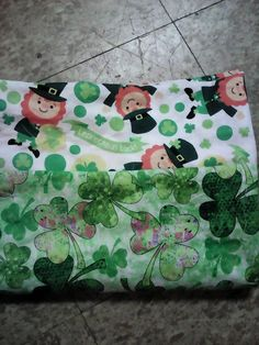 St. Patrick's Day Standard Pillowcase by CreationsbySpike on Etsy