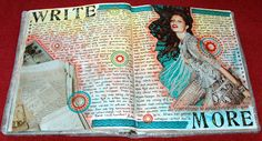 Art journalling is so individualistic -- I love this style, words yes AND so much more! It is like opening the door and saying yes to any medium that feels right. The words and images support and strengthen the other, love the process!
