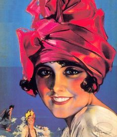vintage rolf armstrong -Rolf Armstrong (1889-1960                                                                                                                                                                                 Plus