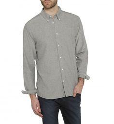Wrangler Casual Long Sleeve Oxford Shirt Black