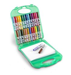 Crayola 25 Count Washable Pip-Squeaks Kit Colorful Markers and Paper 04-5227 #Crayola