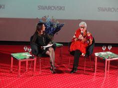 EVENTO - Swarovski promove bate papo com Iris Apfel - Notícias - Guia JeansWear : O Portal do Jeans