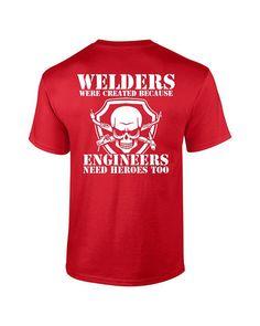 Welder Shirt Welder Tee Welding Shirt by DigitalOneGraphicTee