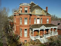 This behemoth mansion is now home to the Lumber Baron Inn & Gardens Bed and Breakfast, complete with murder mystery dinner   2555 West 37th St  Denver, CO  303-477-8205