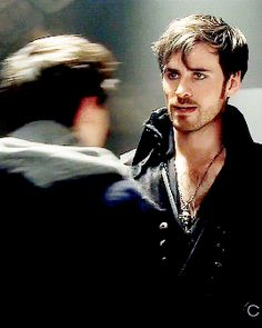 Colin O'Donoghue -Killian Jones - Captain Hook on Once Upon A Time 4x22