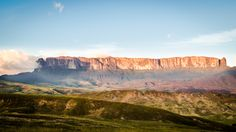 Monte Roraima in Golden hour - null