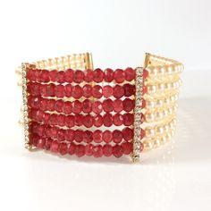 Bracelete rubi da Birmânia