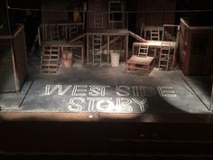 West side story scenic design by Cody Rutledge