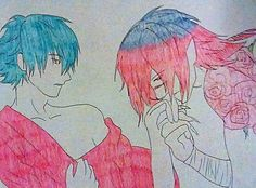 Aoba and Koujaku Dramatical Murder