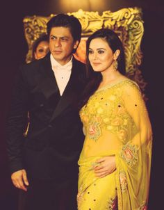 Preity Zinta and SRK; some of the first movies I watched that I remember had these two in them.