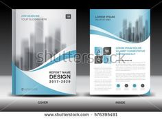 Annual Report Brochure Flyer Template Purple Cover Design