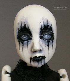 Made To Order: Corpse Paint Doll by strangedolls on Etsy