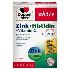Doppelherz Compresse di integratori alimentari con zinco vitamina C e L-istidina