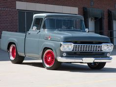 Check out this 1958 Ford F-100 custom done by Ringbrothers that is being driven every day, doing its job as a shop truck - in a class by itself.
