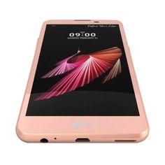 Conoce el  LG X Screen Pink Gold, que tiene un diseño muy moderno, elegante, con vidrio frontal y además fibra de vidrio resistente a los impactos