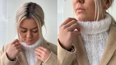 Oppskrift: Strikk din egen hals - MinMote.no - Norges største moteside Diy Clothes, Most Beautiful Pictures, That Look, Turtle Neck, Knitting, Create, Fashion, Handmade Clothes, Moda
