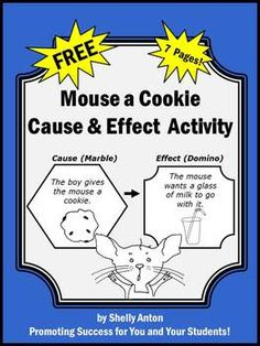 If You Give a Mouse a Cookie Cause & Effect Worksheet