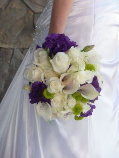 The Bride is always the center of attention at a wedding... her flowers should compliment her on the big day.