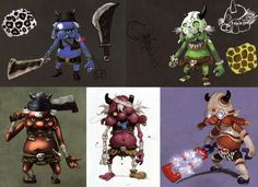 The Legend of Zelda: Skyward Sword - Character Design