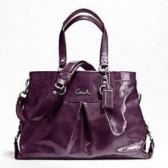 ASHLEY PATENT CARRYALL-for me!