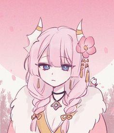 Manga Kawaii, Arte Do Kawaii, Kawaii Art, Kawaii Anime Girl, Anime Art Girl, Anime Drawings Sketches, Anime Sketch, Kawaii Drawings, Cute Drawings