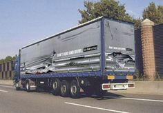 truck art | Truck Art - 3 D pictures on lorry sides and tail. Peter Thorndyke ...