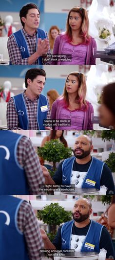 NBC's Superstore is quickly becoming one of my favorite TV comedies on the air. This line from Colton Dunn about drinking artisanal cocktails out of tubas at a wedding cracks me up. Also starring Ben Feldman and Nichole Bloom.