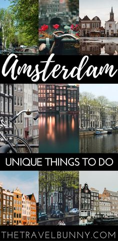 Cool things to do in Amsterdam. The city has an abundance of culture, art and history but here are some cool and quirky things to do in Amsterdam.