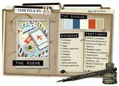 Case File No. 83 {Case closes on August 11, 2013} - CSI: Color, Stories, Inspiration