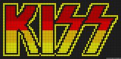 Fast and easy Perler Beads Designs, no matter what pattern you're looking, you can make it and decorate anything you want within a few minutes! Bead Loom Patterns, Perler Patterns, Beading Patterns, Cross Stitch Designs, Cross Stitch Patterns, Pixel Art, Peler Beads, Alpha Patterns, Plastic Canvas Patterns