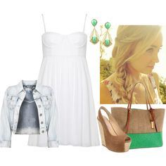 I love the dress! by misstannat on Polyvore