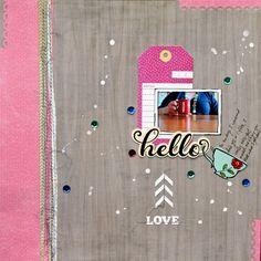Hello *Cocoa Daisy November Kit* - Scrapbook.com