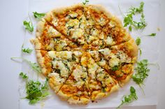 Savory Pumpkin Pizza, aka, The Best Pizza You Will Ever Eat. Ever. - Love Lola | A Life & Style Blog