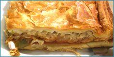 Empanada de bonito y pimientos de O Couto (Galicia)