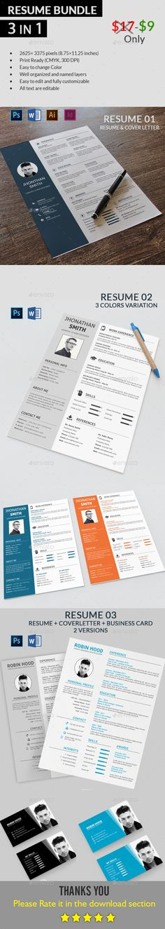 Business Resume Templates Business resume, Business resume - buy resume templates