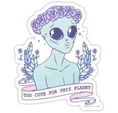 demasiado pura • Also buy this artwork on stickers y phone cases.