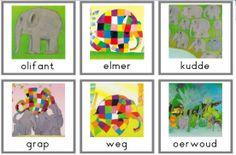 Thema's onderbouw www.digibordonderbouw.nl :: mijnyurlspagina.yurls.net Elmer The Elephants, Elephant Theme, Conte, Preschool, Logos, Crafts, Carnival, Short Stories, Animaux