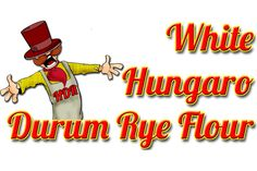 WHITE HUNGARO DURUM RYE FLOUR:  It has higher P (phosphorus), K (kalium), Ca (calcium), Cu (copper), Mg (magnesium), Zn (zink) content than the wheat.  From vitamins E, B1, B2, B6 the durum rye flour contains double quantity, its rough fibre and dietary fibre content is more than double than the wheat flour, its total carbohydrate content is nearly 10 percent lower, so its energy content is proportionally lower, as well. Marketable bakery products can be made from it without using additives. Rye Grain, Graham Flour, Types Of Flour, Rye Flour, Grains, Content, High Fibre, Mineral, Fiber