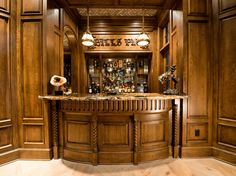If you could build your very own personal pub, would you?