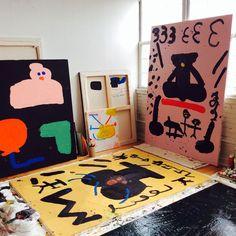 Misaki Kawai's studio.