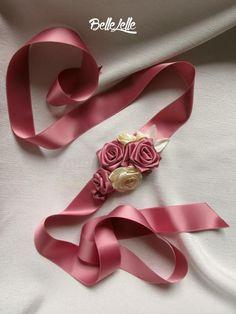 Mályvarózsaszín rózsás díszöv Band, Accessories, Weddings, Fashion, Moda, Sash, Fashion Styles, Wedding, Fashion Illustrations