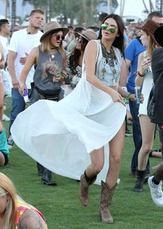 Kendall Jenner at Coachella 2014