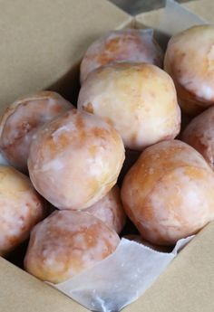 Get this tested recipe for glazed gluten free donut holes. Just like plain glazed munchkins from Dunkin Donuts, but safely gluten free! allergy free recipes allergy free