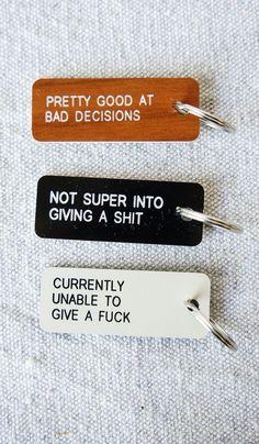 Engraved Key Tags