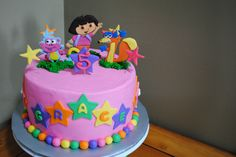 dora the explorer cakes - Google Search